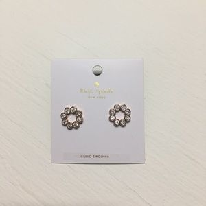 Kate Spade Rose Gold Full Circle Earrings